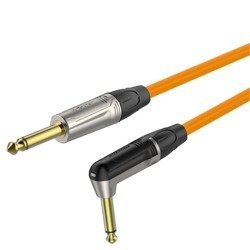6.3mm mono plug - 6.3mm mono plug right angle  Roxtone TGJJ110L3 TOG