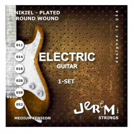 Struny do gitary elektrycznej EG1152 JEREMI (11-52)